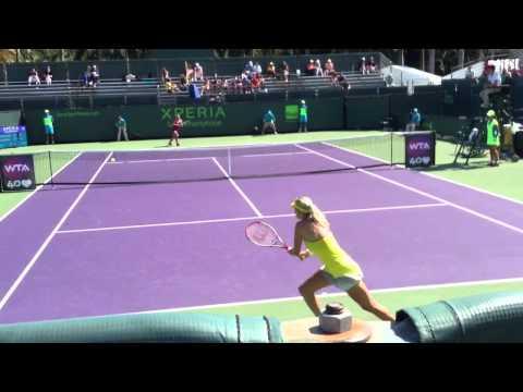Sony Open 2013: Cibulkova Vs Mladenovic