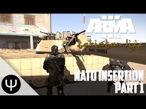 ARMA 3: Takistan Life Mod — NATO Insertion — Part 1 — It's a Prank!