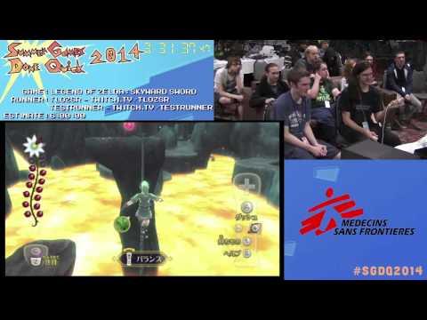 Summer Games Done Quick 2014 - Part 122 - Legend Of Zelda: Skyward Sword