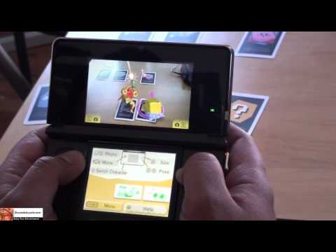 Nintendo 3DS AR Game Hands-on (Augmented Reality)