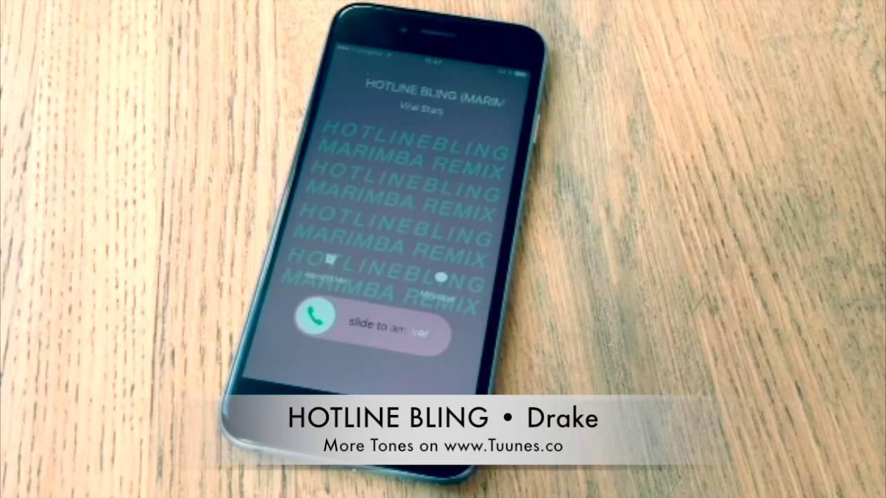hotline bling ringtone iphone free