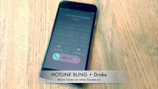 Iphone & android download links in description. hotline bling ringtone (drake tribute remix ringtone) by viral stars get it now for your or android: i...