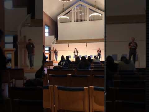 Beautiful Singing in church, North Park University