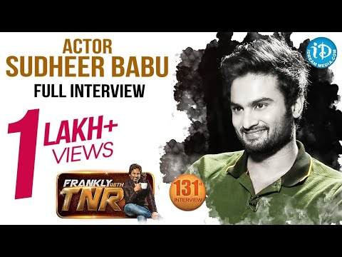 Actor Sudheer Babu Exclusive Interview | Nannu Dochukunduvate Movie | Frankly With TNR #131