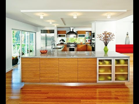 Modern Bamboo Kitchen Cabinet Design Youtube