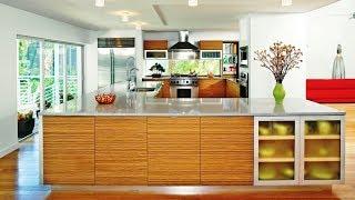 Modern Bamboo Kitchen Cabinet Design
