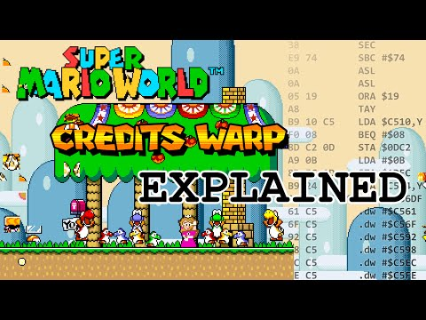 Super Mario World Credits Warp Explained