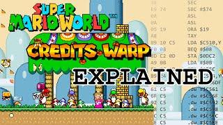 Super Mario World Credits Warp Explained