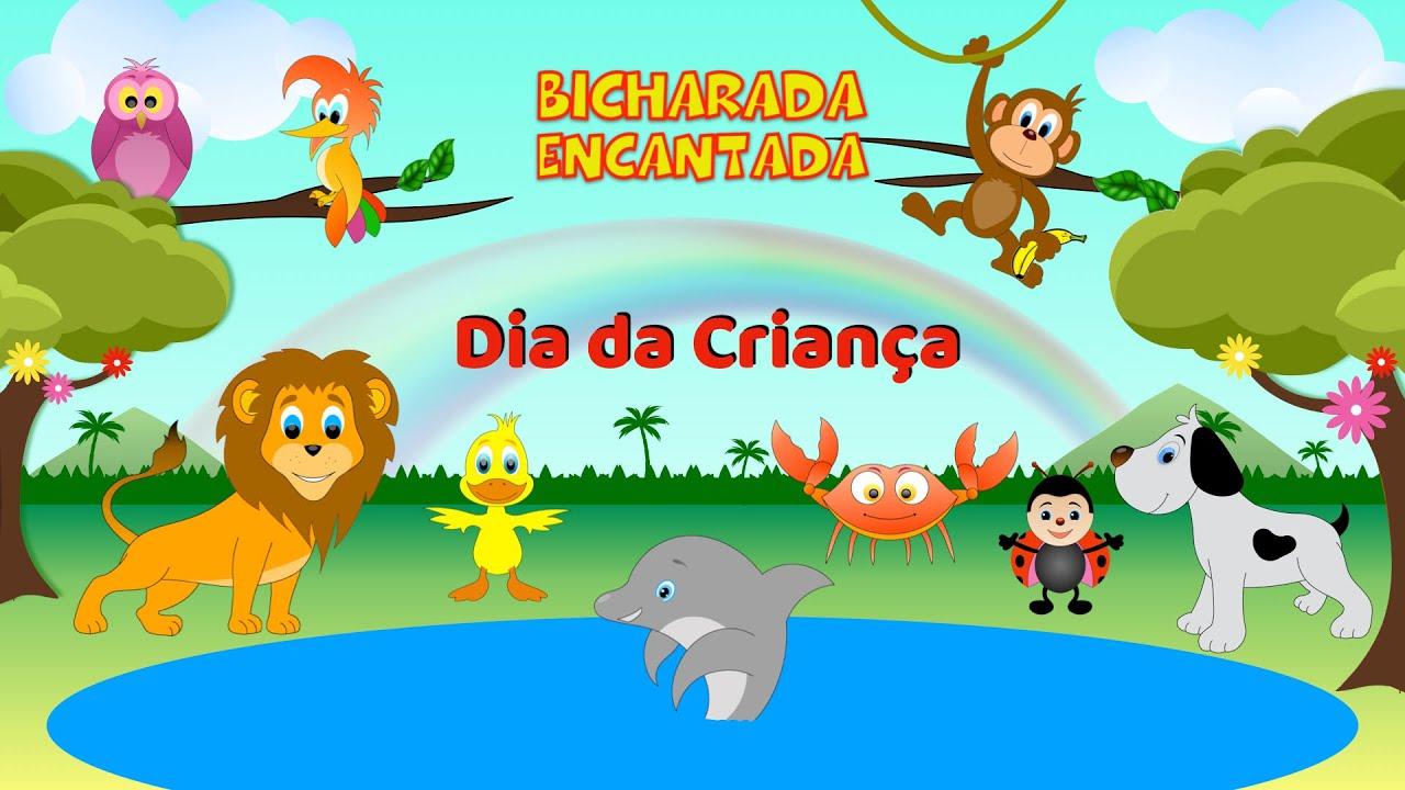 Bicharada Encantada Dia Da Crianca Musica Para Criancas