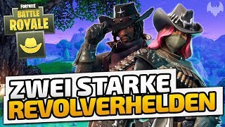 Zwei starke Revolverhelden - ♠ Fortnite Battle Royale LTM: Wild West #001 ♠ - Deutsch German