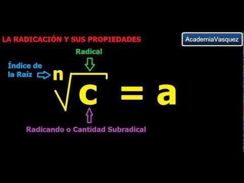 La Radicación y
