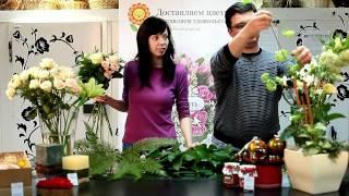 Мастер-класс по флористике от Обрадовал.ру