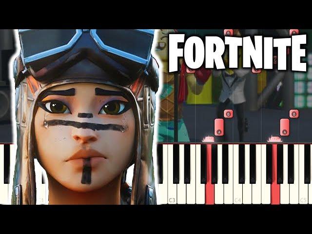 Fortnite S Kinda Dying Piano Tutorial Youtube