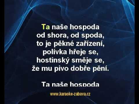 Ta naše hospoda - Jaroslav Uhlíř, Zdeněk Svěrák Karaoke tip