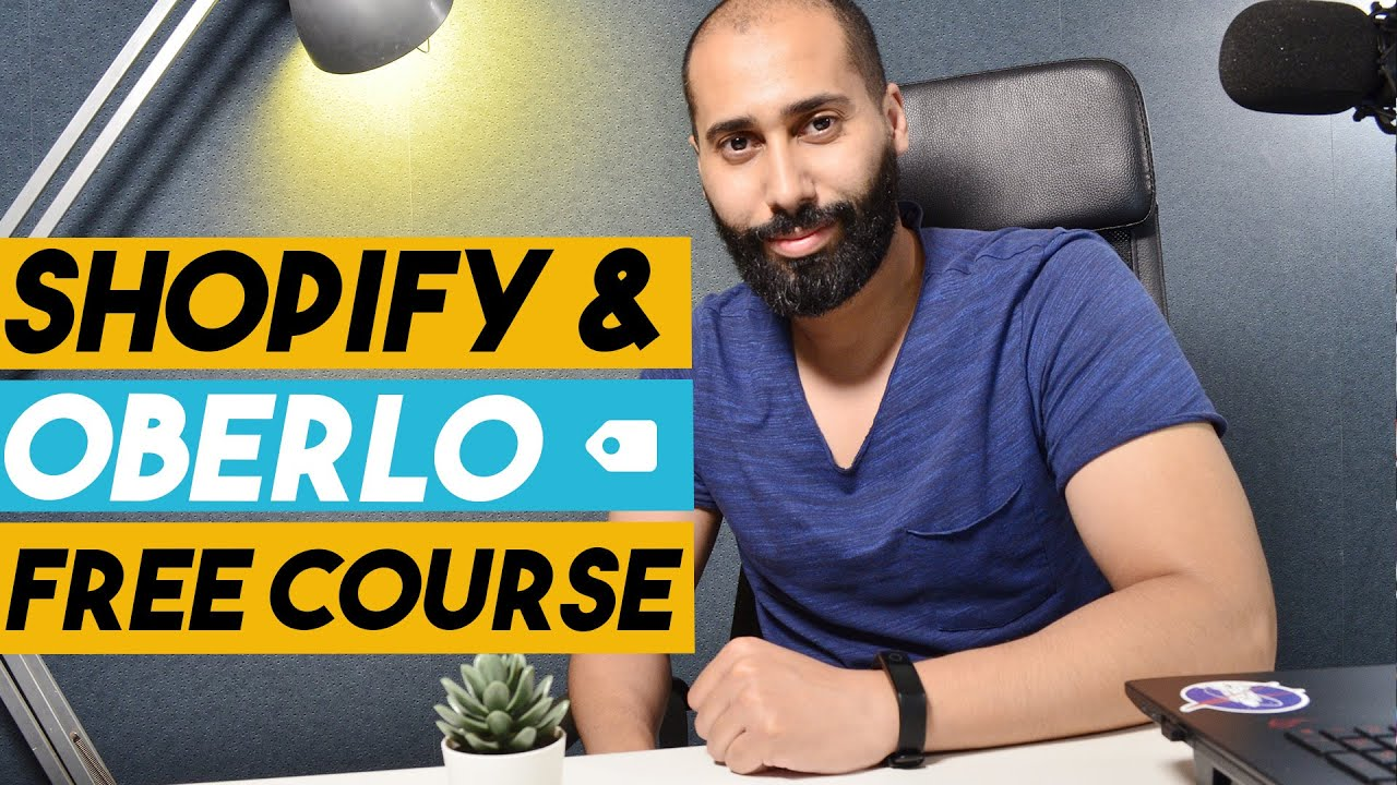 How to set up oberlo and Shopify in 15 min - Free Course part 2 [Dropshipping Maroc]