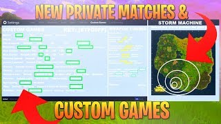 NEW FORTNITE BATTLE ROYALE PRIVATE MATCHES COMING SOON * FORTNITE CUSTOM GAMES * NEW MODES SOON