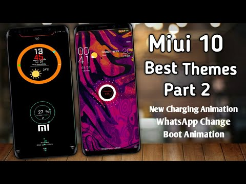 Repeat Best New 2019 Themes For MIUI 10   Oxygen OS   Best