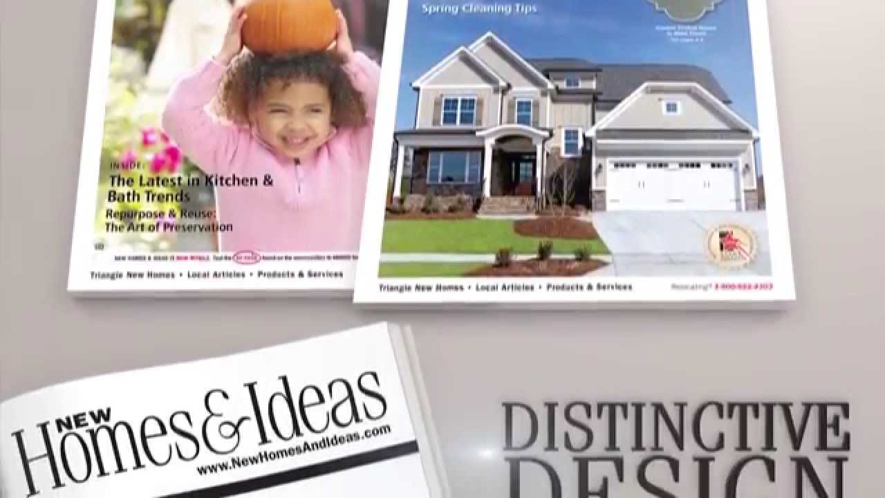 new homes and ideas magazine