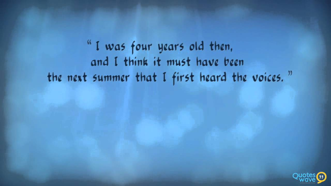 Black Elk Quotes (Medicine Man) - YouTube