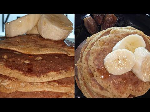 pancakes-healthy-aux-flocons-d'avoine-🥞-بانكيك-صحي-برقائق-الشوفان