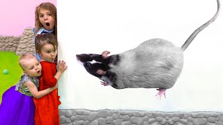 Five Kids Play and turn the little ones into big ones Children's videos