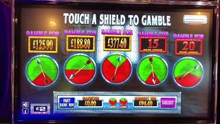 £500 jackpot slot machines service station session featuring kings honour , home sweet home and more