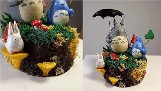 Тоторо из полимерной глины ( Мой сосед Тоторо/ My Neighbor Totoro )