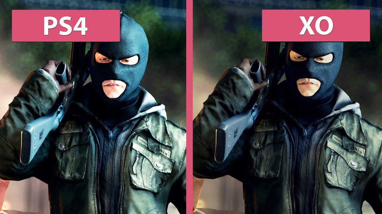 Battlefield Hardline – PS4 vs. Xbox One Graphics ... Ps4 Graphics Vs Xbox One Graphics
