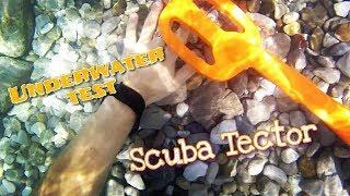 Scuba Tector Deteknix - Test in acqua