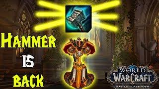Hammer Of Wrath Returns - Battle for Azeroth Alpha - Retribution Paladin