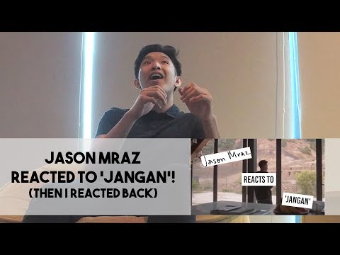 Jason Mraz reacts to Aziz Harun's 'Jangan'