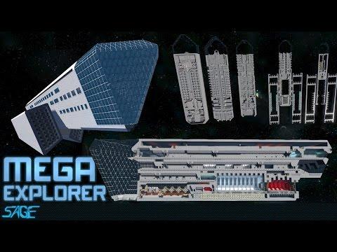 Space Engineers, Mega Explorer (Planet Jumper)