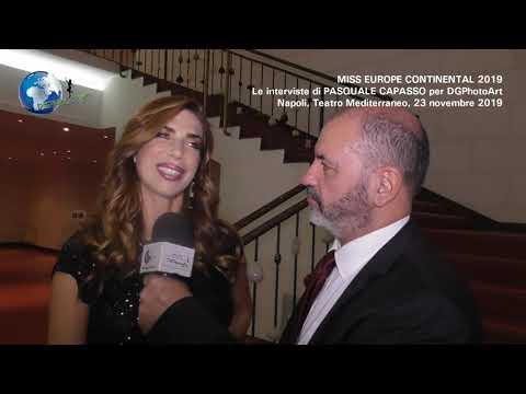 Miss Europe Continental 2019   Le Interviste Di Pasquale Capasso Per DGPhotoArt