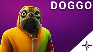[4K] Fortnite - Doggo Outfit Skin (modèle 3D Showcase)
