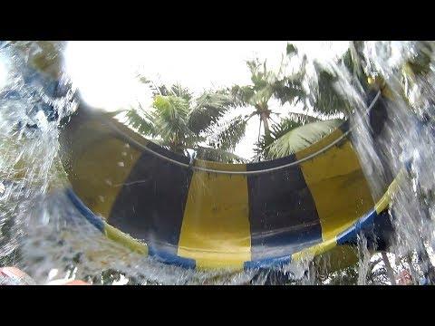 Space Water Slide at Dam Sen Water Park