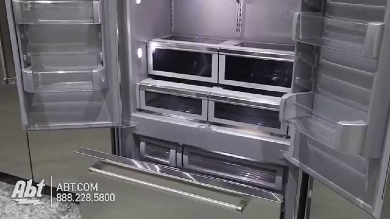 KitchenAid 42 Built In Stainless Steel French Door Refrigerator With  Platinum Interior Design...   YouTube