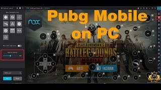 download and play pubg mobile on pc with nox app player controls