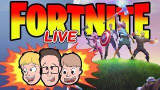 FORTNITE AVENGERS ENDGAME Update | Charity Family Friendly Livestream Gameplay 2019