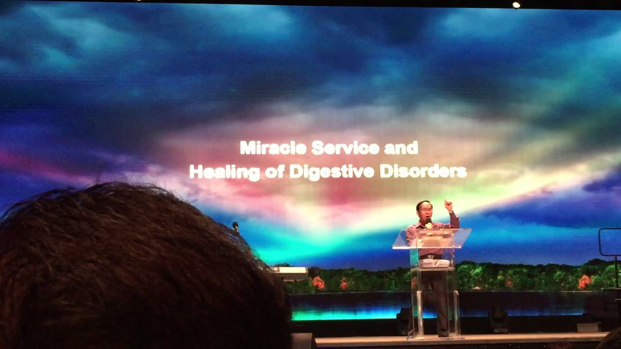 Prayer for the Miracle Service and healing of Digestive Disorders- Thursday  Upperlight