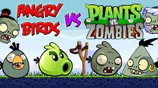 Angry Birds vs Plants vs Zombies Part 4