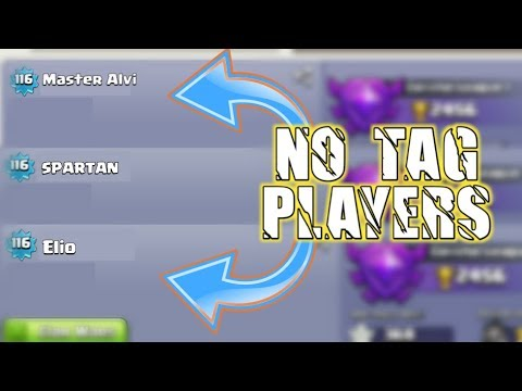 NO TAG PLAYERS IN CLASH OF CLANS l IS COC DEAD? l ARE THEY BANNED? MYSTERIOUS PLAYERS