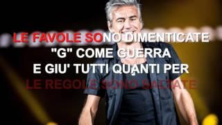 Ligabue - G come Giungla - Karaoke con testo