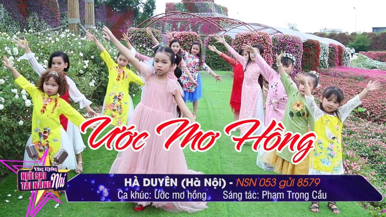 NSN 053. Hà Duyên - Ước Mơ Hồng | Tìm kiếm Ngôi Sao Tài Năng Nhí 2020