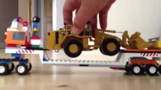 Lego Heavy Hauler for hauling equipment