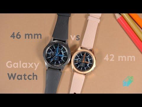 Samsung Galaxy Watch 46 mm vs 42 mm Porównanie  Który lepszy? | Robert Nawrowski