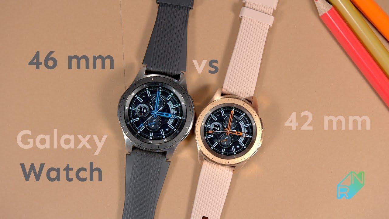 Samsung Galaxy Watch 46 Mm Vs 42 Mm Por 243 Wnanie Kt 243 Ry