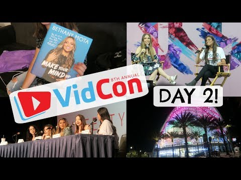 Vidcon Day 2 + Q&A with Bethany Mota