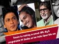 Thanks for making us proud: SRK, Big B congratulate PV Sindhu on her India Open title win