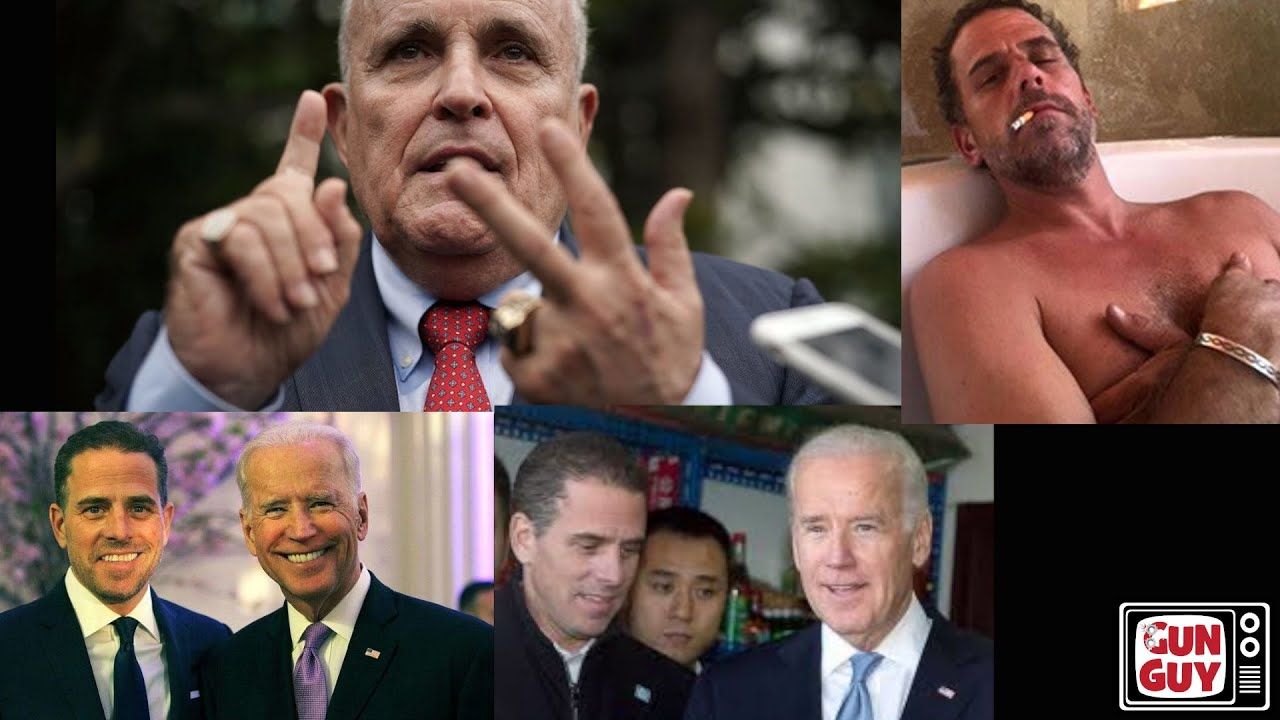 Update on Hunter Biden and the Biden Crime family with Rudy Giuliani