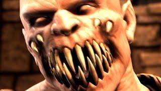 Mortal Kombat X - Baraka Death Scene (18+) | D
